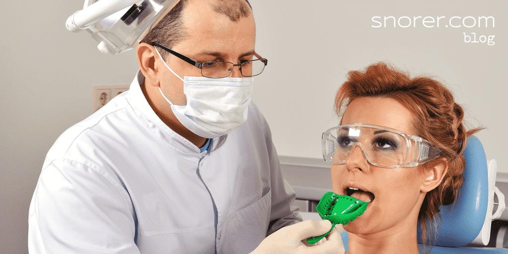 custom mandibular advancement device (MAD)