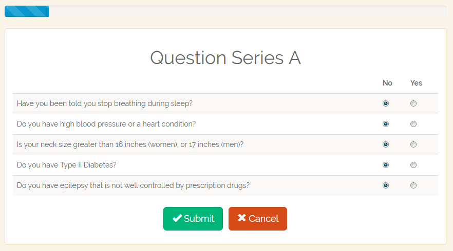 question series A
