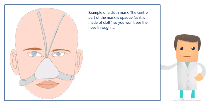 Cloth CPAP mask