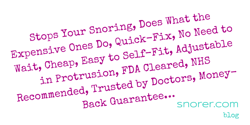 Dental Gadgets for Snoring: 9 Crazy Claims Sleep-expert Reviewed (2020)
