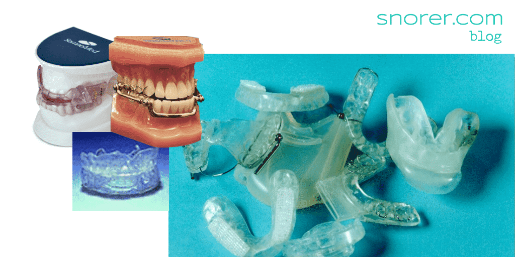 Dental appliances for sleep apnoea / apnea