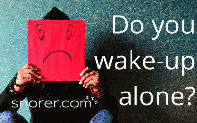 Brits who snore wake-up alone, despite going to bed as a couple…