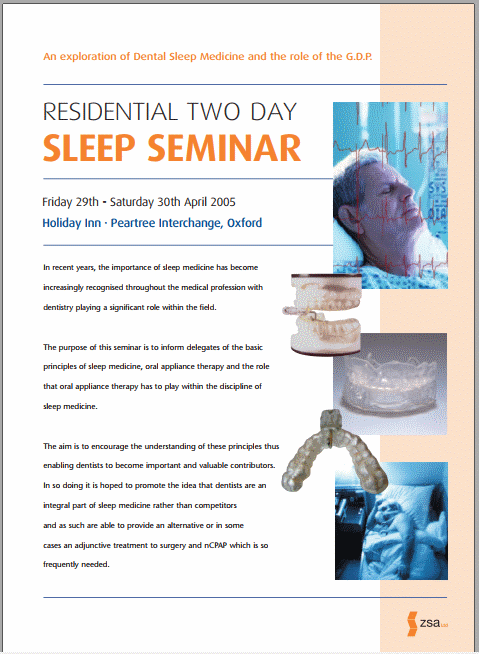 ZSA sleep conference from 2005